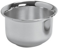 "Host Bowl has a 5"" Diameter. Bowl has a host capacity of 225. Host Bowl is available in pewter or 24K gold plated"