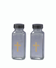 "Cruet Bottles with 4 ounce capacity, 4.5"" tall"