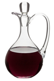 Glass Flagon - 40 Ounce Capacity, Height: 11""