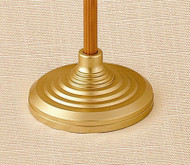 Heavy Processional Base - Satin Gold
