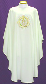 Easy Care Embroidered Chasuble 2028
