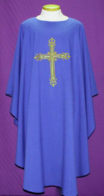 Easy Care Embroidered Chasuble 2026