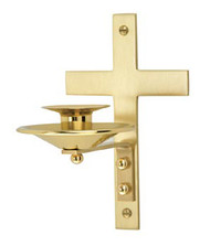 Dedication Candle Bracket - K183