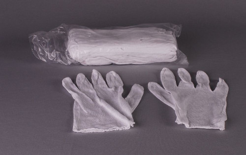 Sacristy Gloves - Aids in the handling of sacred vessels and polishing process. One dozen per package.