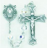 Crystal Swarovski Sterling Rosary