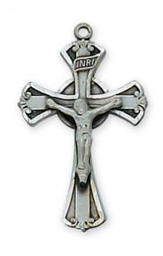Antique Silver Crucifix