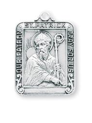 Sterling Silver Saint Patrick Medal