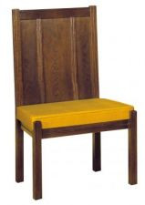 Wooden and Cushioned Communion Chair-144