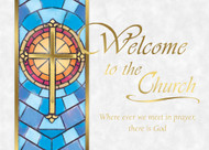 Welcome to the Church Cards, Box of 25