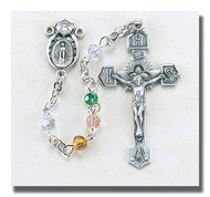 Multi Color IHS Rosary