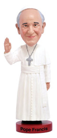 What better way to commemorate Pope Francis than with a bobblehead doll from St. Jude Shop.