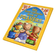 This is a delightfully illustrated collection of both traditional and new prayers.  Ideal for young Catholic children, this book includes prayers for all times of the day: mealtimes, school time, bedtime--any time!  Great gift for boys or girls.  4.5 x 6 inch Hardcover. 32 pages.