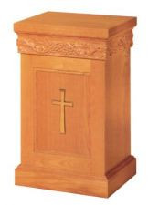 "Dimensions: 30"" height, 24"" width, 18"" depth. Brass crosses & castors are available at an additional cost"