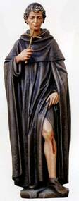 "Demetz Classic 12"" Devotional Art for the home.  Statue is made of the best quality resin. Peregrine's Feast Day is May 1. He is the Patron Saint of Cancer patients"
