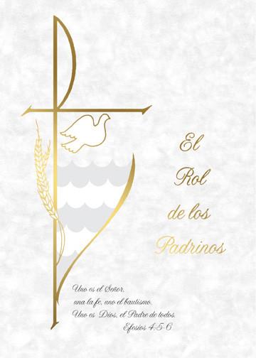 El Rol de los Padrinos, Parchment Style (Godparents Folder)