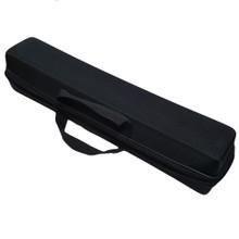 Black Zippered Travel Bag.