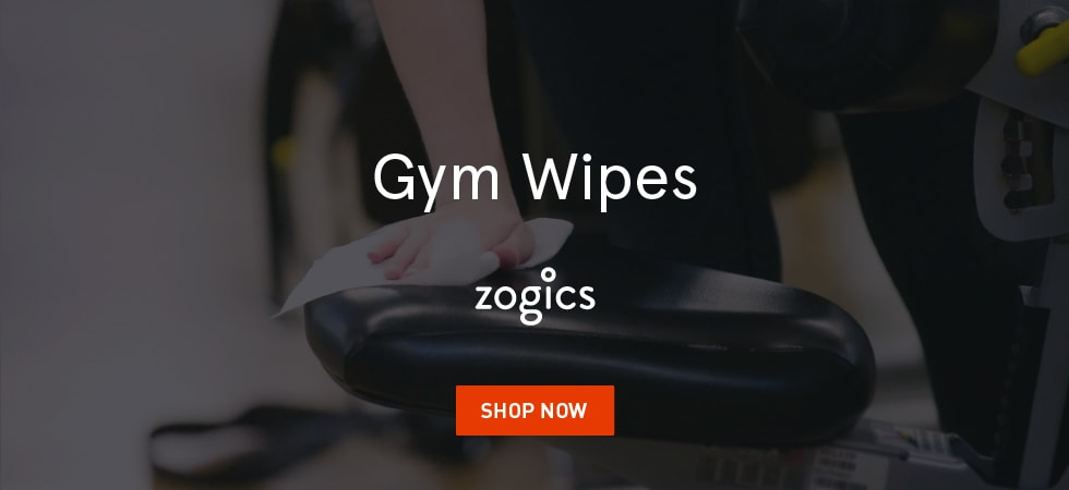 Zogics Gym Wipes