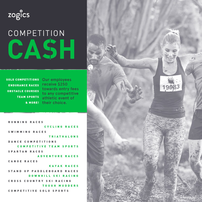 Zogics Competition Cash