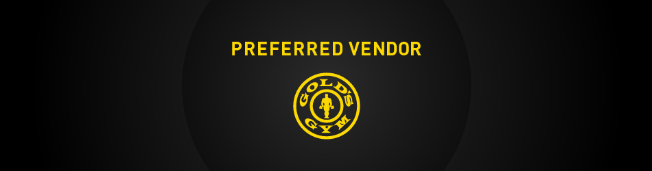 Zogics is Proud to be a Gold's Gym Preferred Vendor