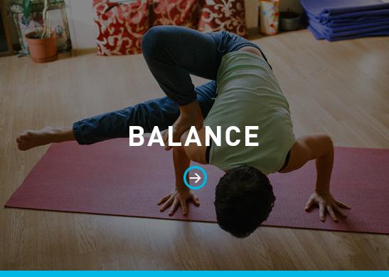 Practice balance & mindfulness, yoga