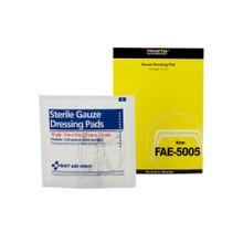 "First Aid Only SmartCompliance SmartTab ezRefill, Gauze Bandage, 3""x 3"", FAE5005F (10 refills/box)"