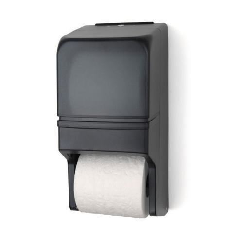 Two Roll Standard Tissue Dispenser, RD0025, Grey