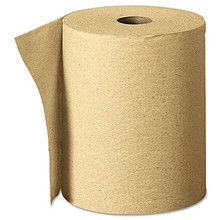 Certo Roll Paper Towel, Brown, 6 Rolls Per Case
