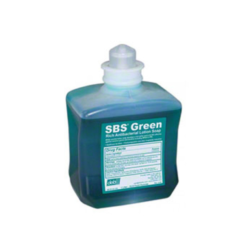 Deb Antibacterial Gel Hand Soap, Green, 1 Liter, 88127 (8 refills/case)
