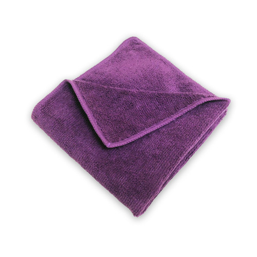 16x16 Microfiber Towels, Purple