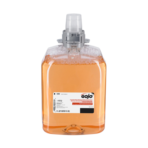 GOJO FMX-20 Luxury Foam Antibacterial Handwash, 2000 mL (2 reflls/case) (5262-02)