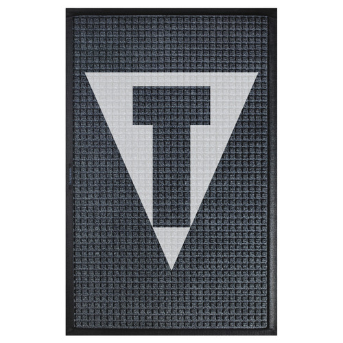 The Andersen Company Title Boxing Logo Waterhog Classic, Interior Entrance Mat, 200