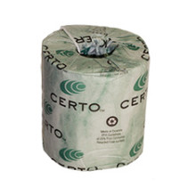 Certo 2-Ply 100% Recycled Toilet Tissue, BT2325 (500 sheets/roll) (96 rolls/case)