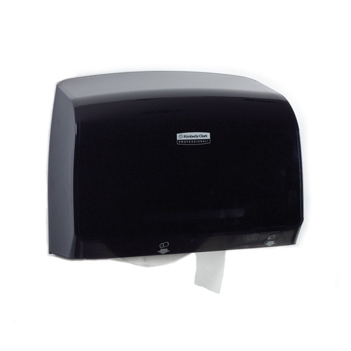 Kimberly-Clark Professional MOD Coreless JRT Bathroom Tissue Dispenser, Smoke, 34831