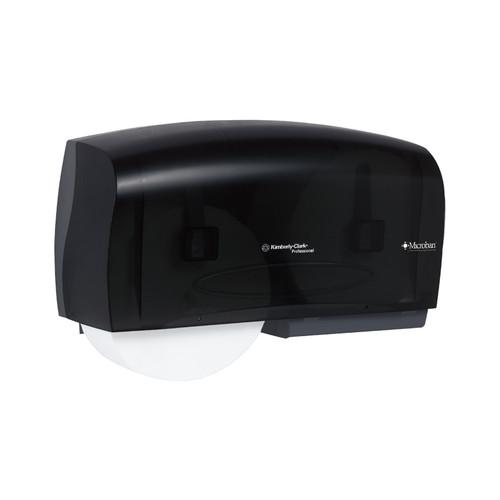 Kimberly-Clark Professional Coreless JRT Twin Bathroom Tissue Dipenser, Smoke, 09608