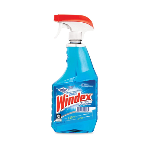 Windex® Powerized Formula Glass & Surface Cleaner, 32oz Trigger Bottle (12 bottles/case), DVO90135CT