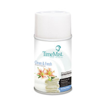 TimeMist Metered Fragrance Dispenser Aerosol Refill, Fresh N Clean Fragrance, 6.6 oz (12 refills/case) (TMS332502TMCAEA)