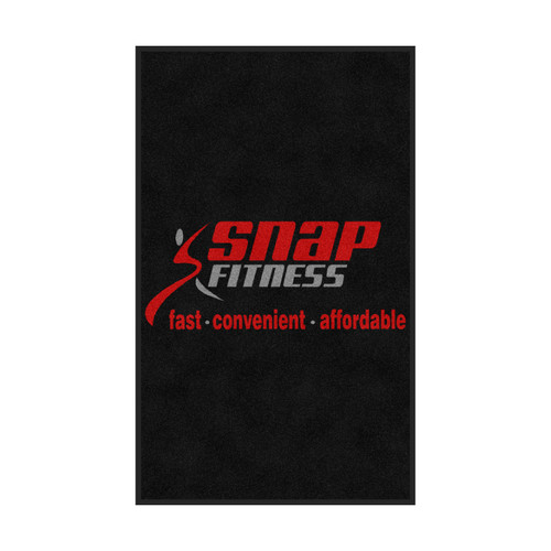 The Andersen Company Snap Fitness Logo Classic Impressions, Vertical Interior Wiper Mat, 70 (70-Snap-V)