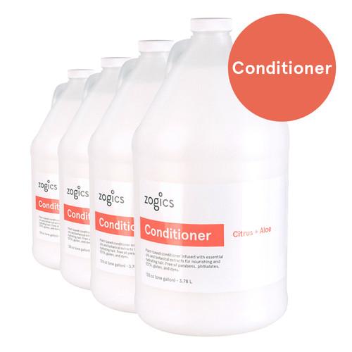 Zogics Conditioner, Citrus + Aloe, CCA128 (4 gallons/case)