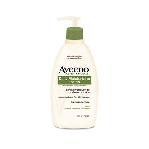 Aveeno Daily Moisturizing Lotion, 12oz Pump Bottle (JOJ100360003)