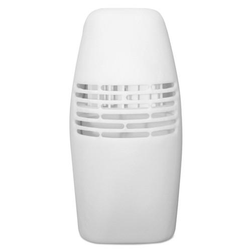 Fan dispenser with lockable cabinet.