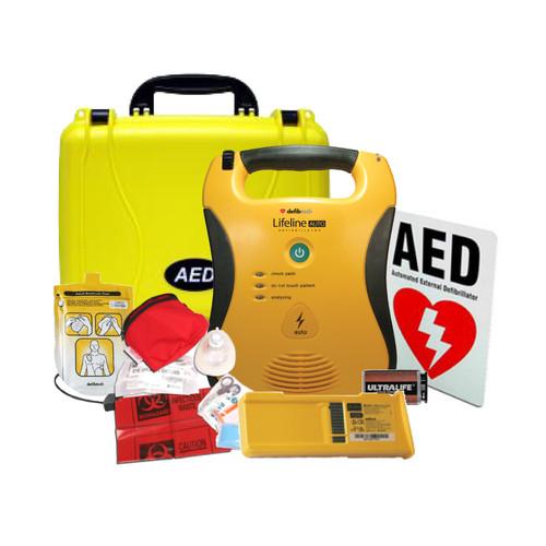 Defibtech Lifeline AUTO AED Standard Bundle