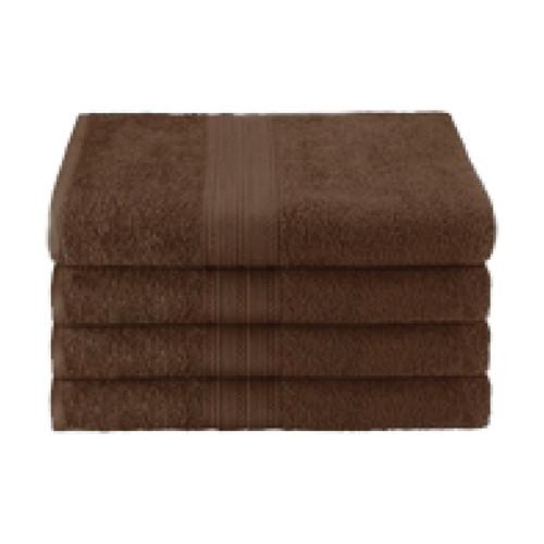 25x52 Ring Spun Bath Towel, Brown, 10.5lb (Monarch-Bath-Brown)