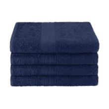 25x52 Ring Spun Bath Towel, Navy, 10.5lb (Monarch-Bath-Navy)