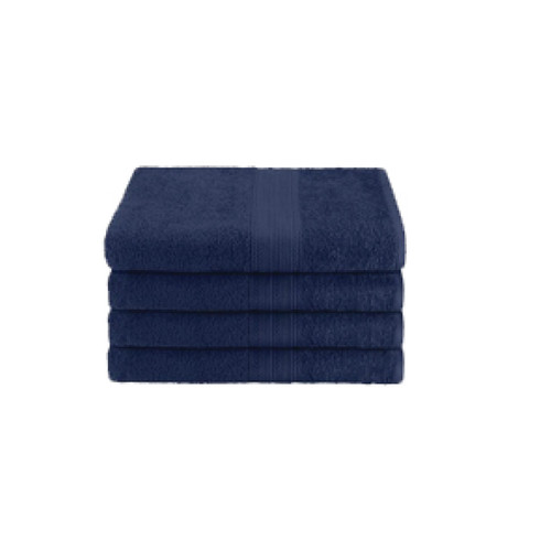 16x27 Ring Spun Hand Towel, Navy, 3lb (Monarch-Hand-Navy)