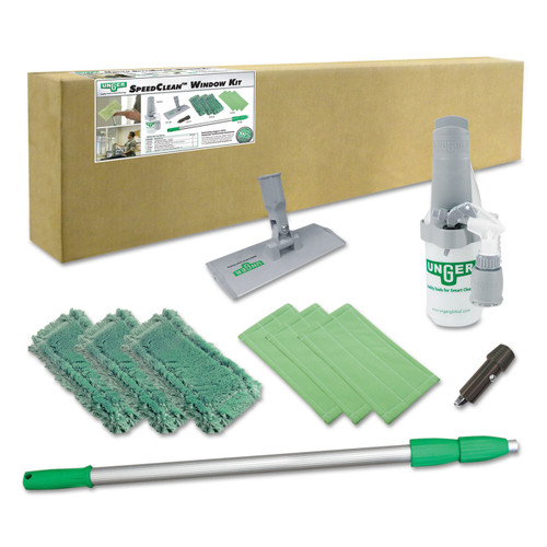 Complete indoor cleaning kit.