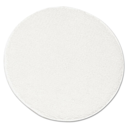 Rotary floor machine carpet bonnet.