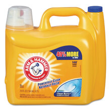 Dual HE clean-burst liquid laundry detergent.