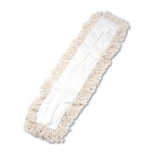 Industrial dust mop head.