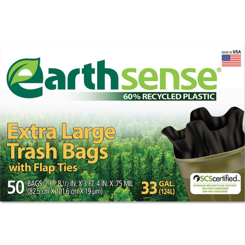 Large trash bags.