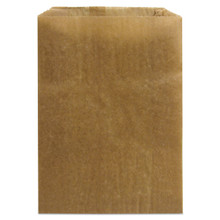 Kraft waxed paper liners.